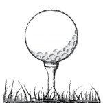 Ball on T Perfect Golf Swing