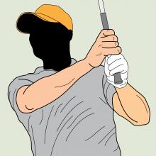 Golf Grip Pressure Image