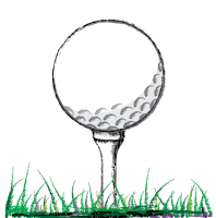 Ball on Tee Perfect Golf Swing